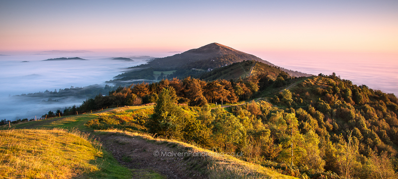 Sunrise on Pinnacel Hill - Malvern Hills